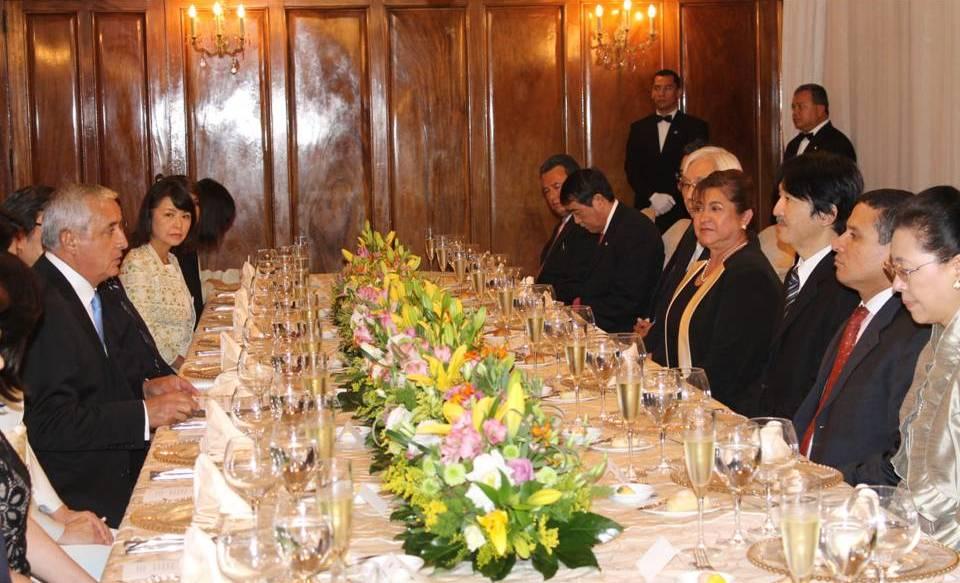 秋篠宮同妃両殿下のグアテマラ御訪問(2014年)